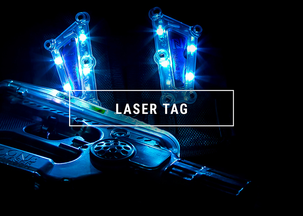 Item ET12 - Two Laser Tag Sessions And TWO Go-Cart Races at Amp Action Park in Manchester