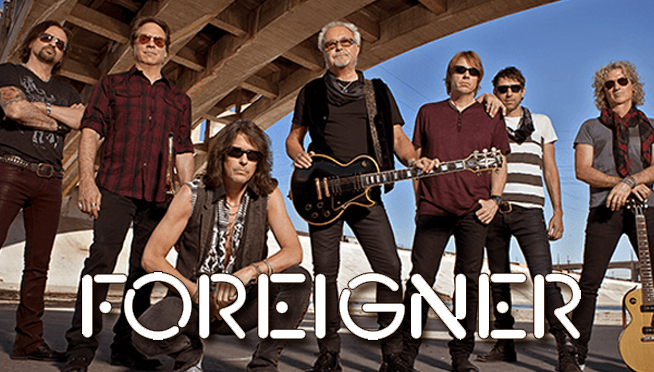 Item HG28 - Autographed Photo of the group Foreigner valued at PRICELESS