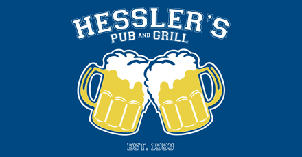Item FG58 - $20 Gift Card for Hessle'rs Pub and Grill in South County